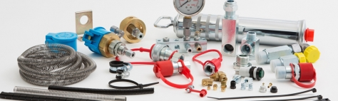Accessories for centralized lubrication systems